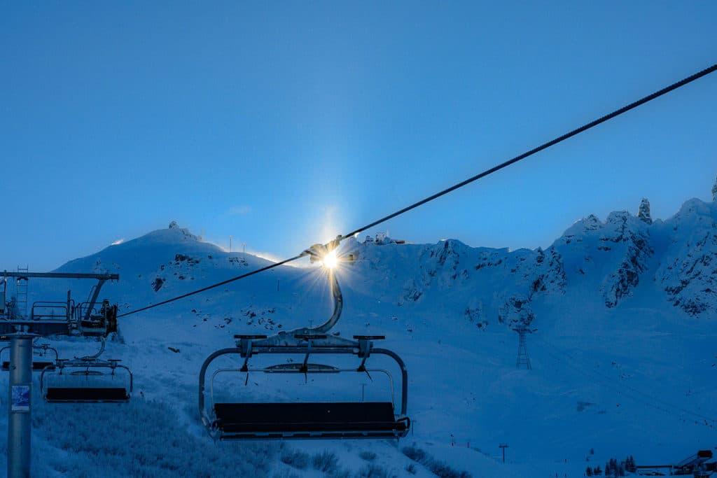 New start to Courchevel ski season