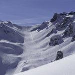Combe de la Saulire ski run Courchevel