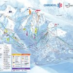 Courchevel Piste Map 2020