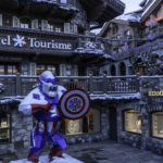Courchevel Tourism in the centre of town