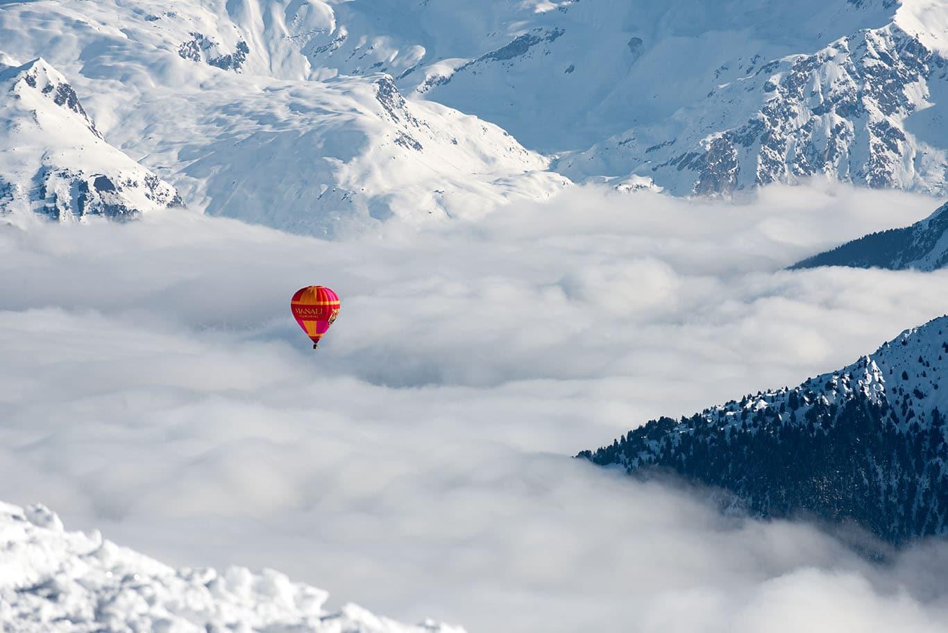Hot Air Balloon Courchevel