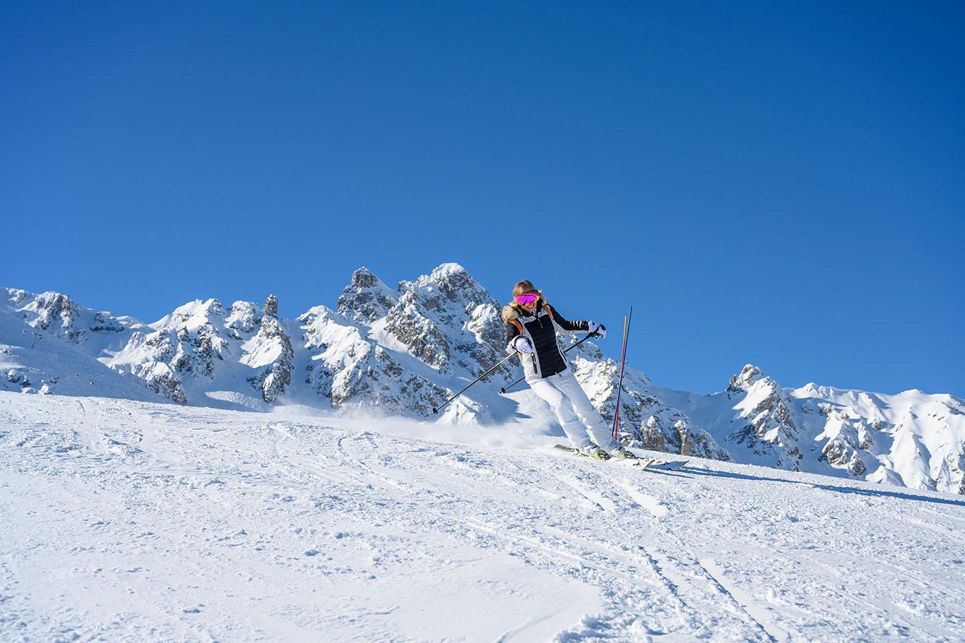 skiing holiday 2021