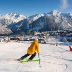 Skiing Piste Carve 1850