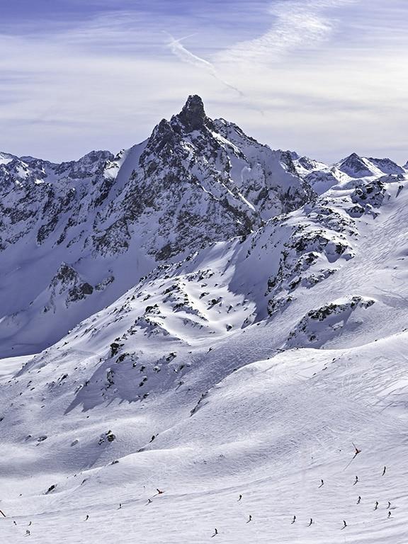 Creux ski run