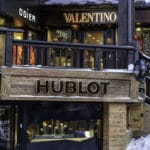 Shops in Courchevel