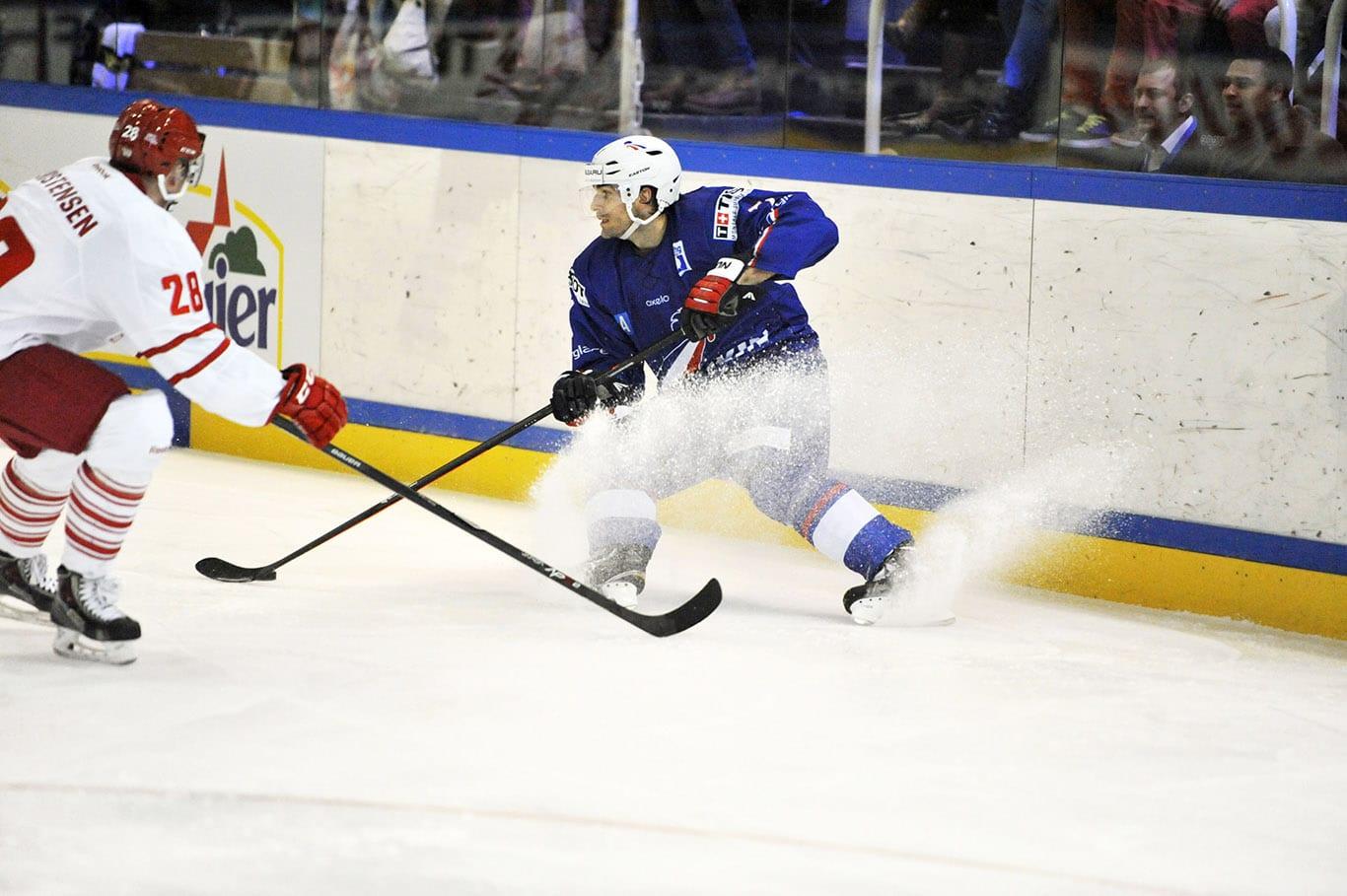 ice hockey Courchevel