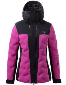 Kjus purple ski wear for women
