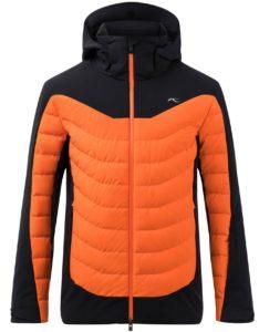 Kjus mens organge ski wear