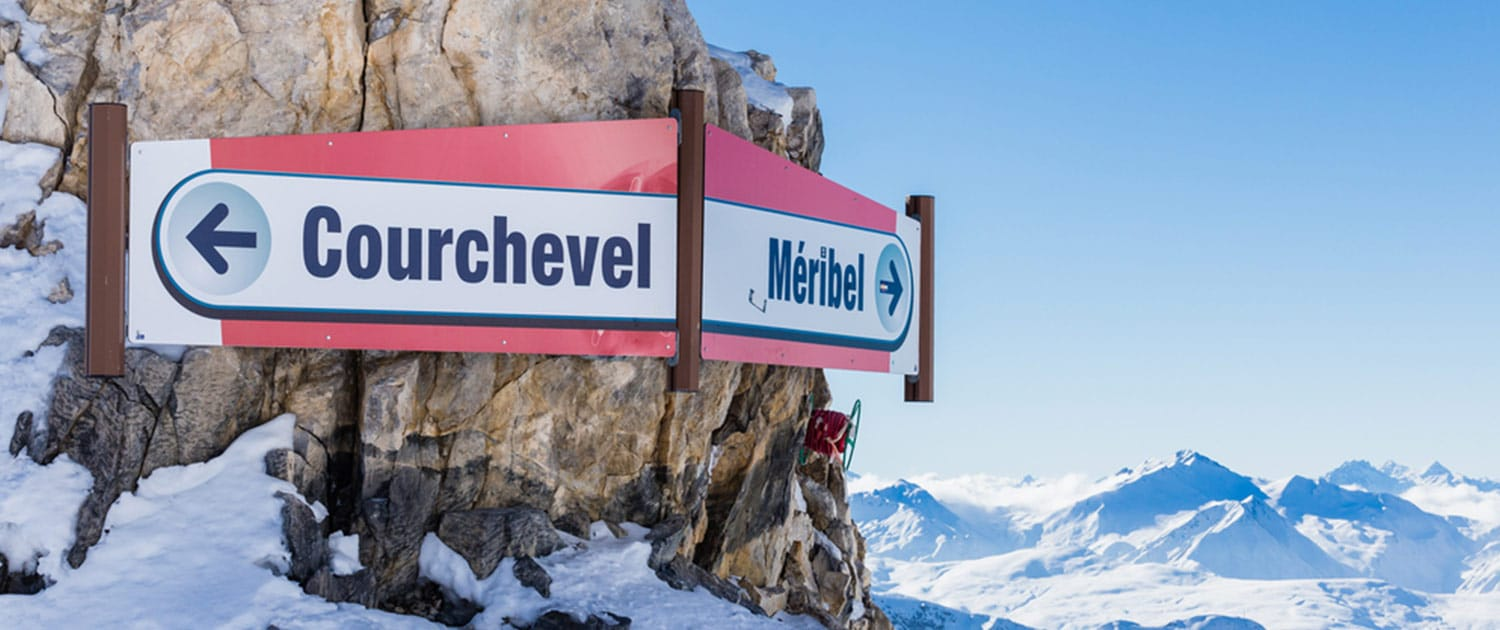 Courchevel meaning in French and English