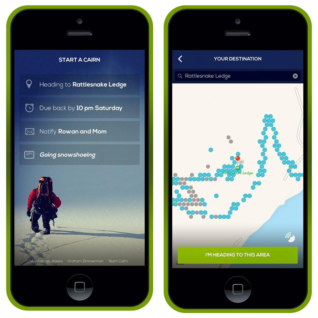 Carin adventure app