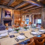 Chalet Montana living dining