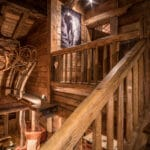 Chalet Montana stairs