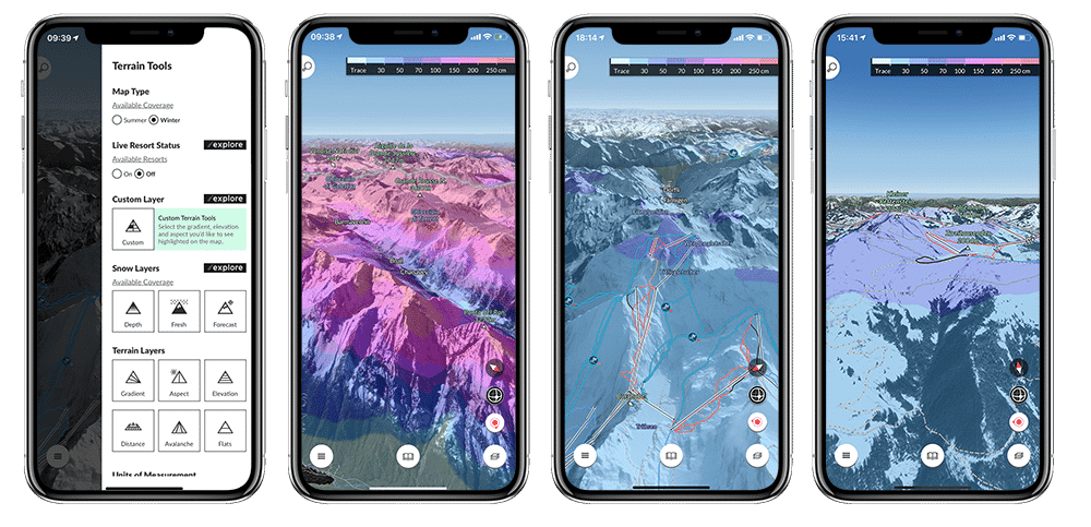 FATMAP ski mapping app