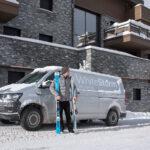 Ski hire Courchevel to a ski chalet