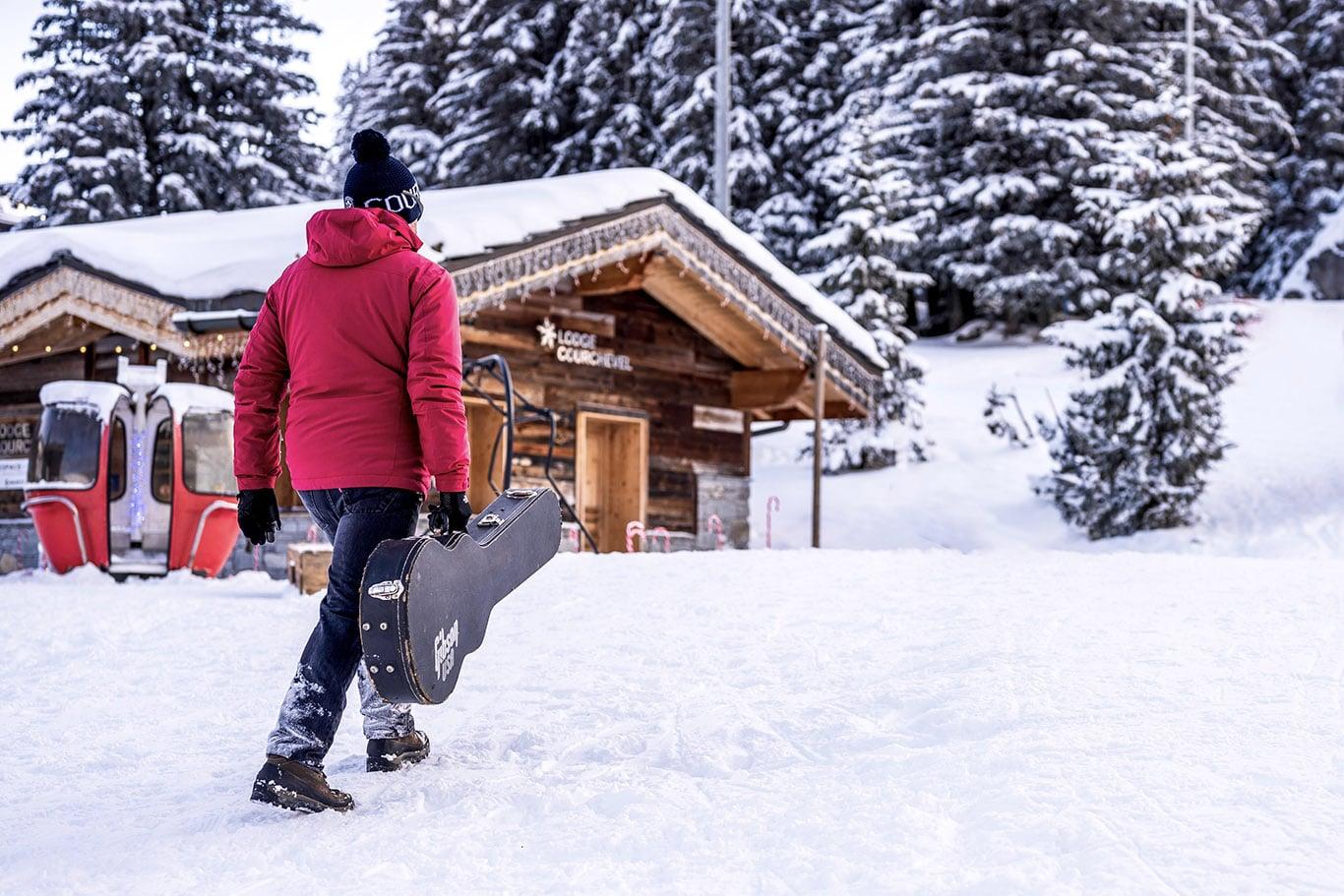 Ski chalet apres band courchevel