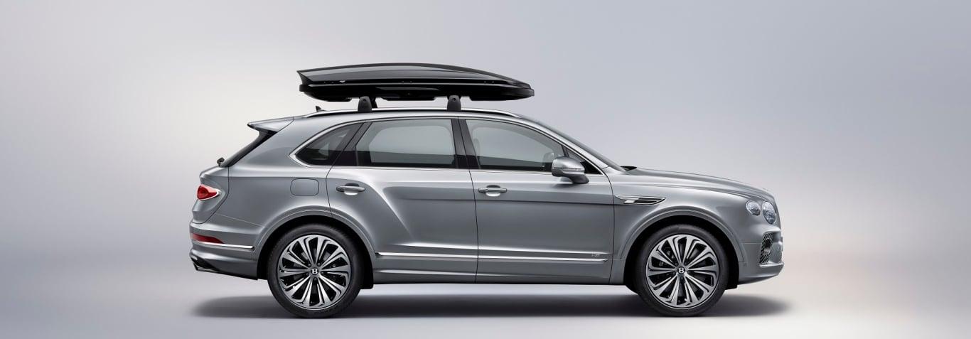 Bentley Bentayga with roof rack