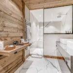 Chalet Namaste Courchevel 1850 Bedroom2 Ensuite