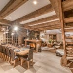 Chalet Namaste Courchevel 1850 Dining Room