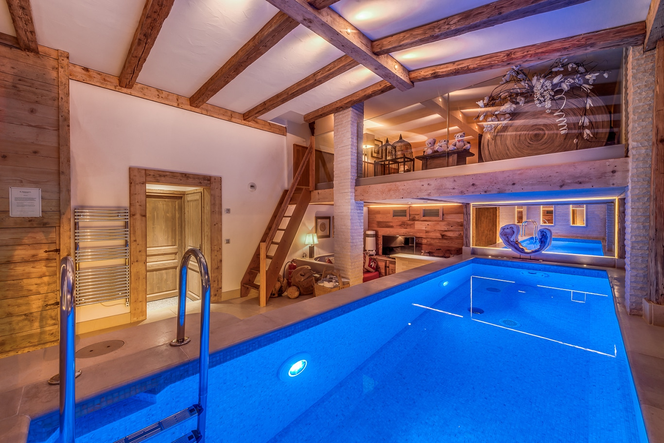 Chalet Namaste Courchevel 1850 Pool