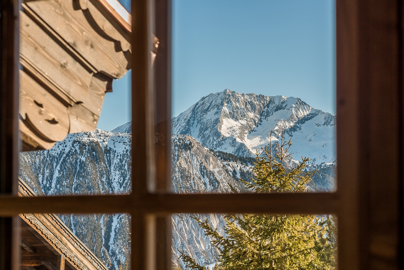 Chalet Namaste Courchevel 1850 View from Window