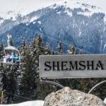 Chalet Shemshak sign