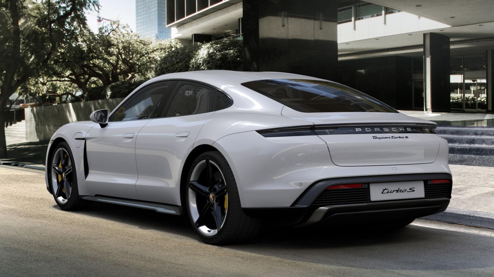 Porsche in Courchevel