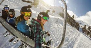 best skiing helmet camera