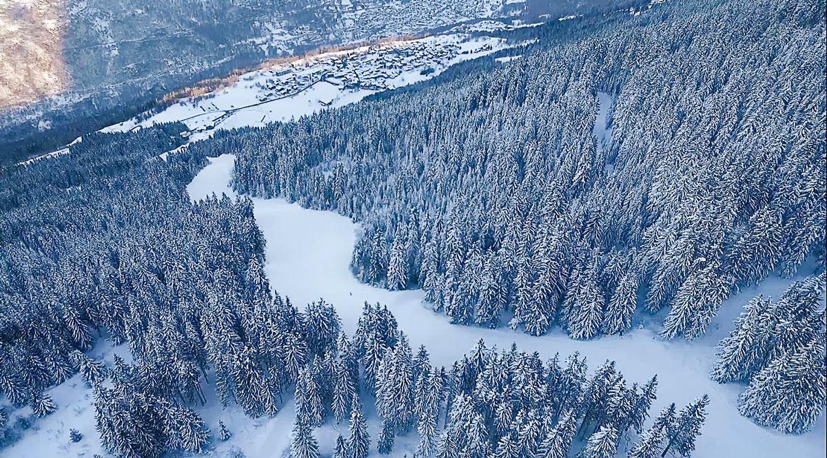 new ski piste eclipse courchevel
