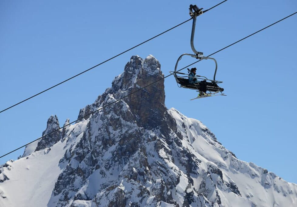 Ski Pass for chairlift in Courchevel