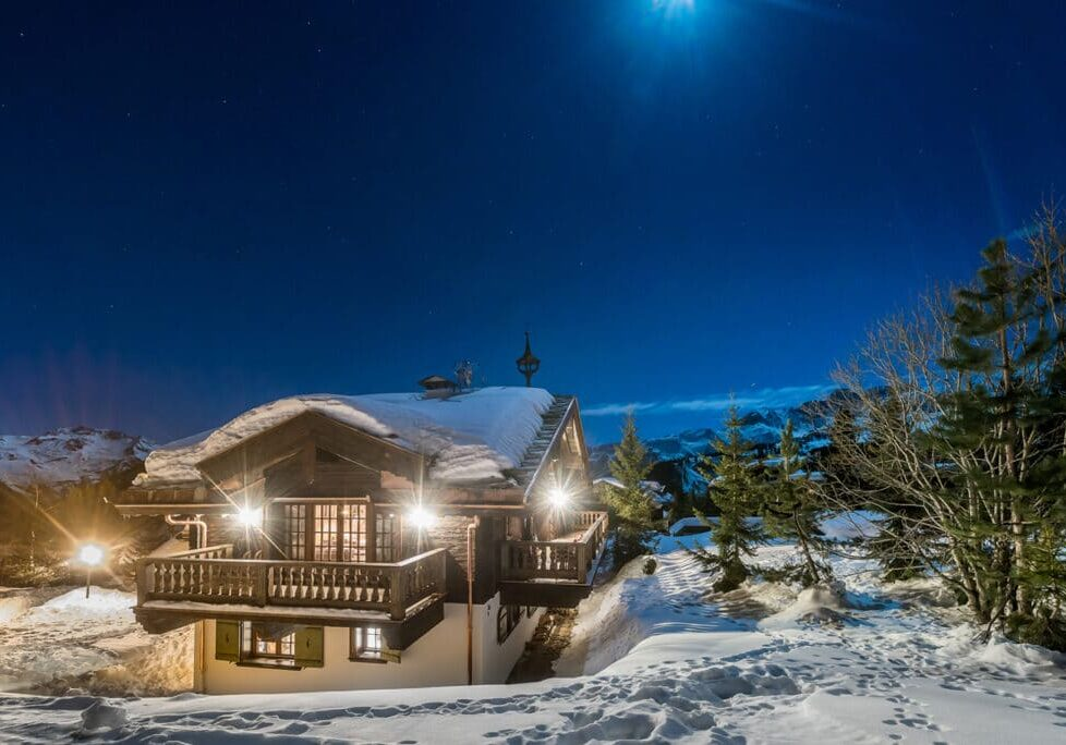 Chalet Namaste Courchevel 1850 View from the Piste