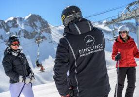 Finelines pro private ski instructor in Courchevel