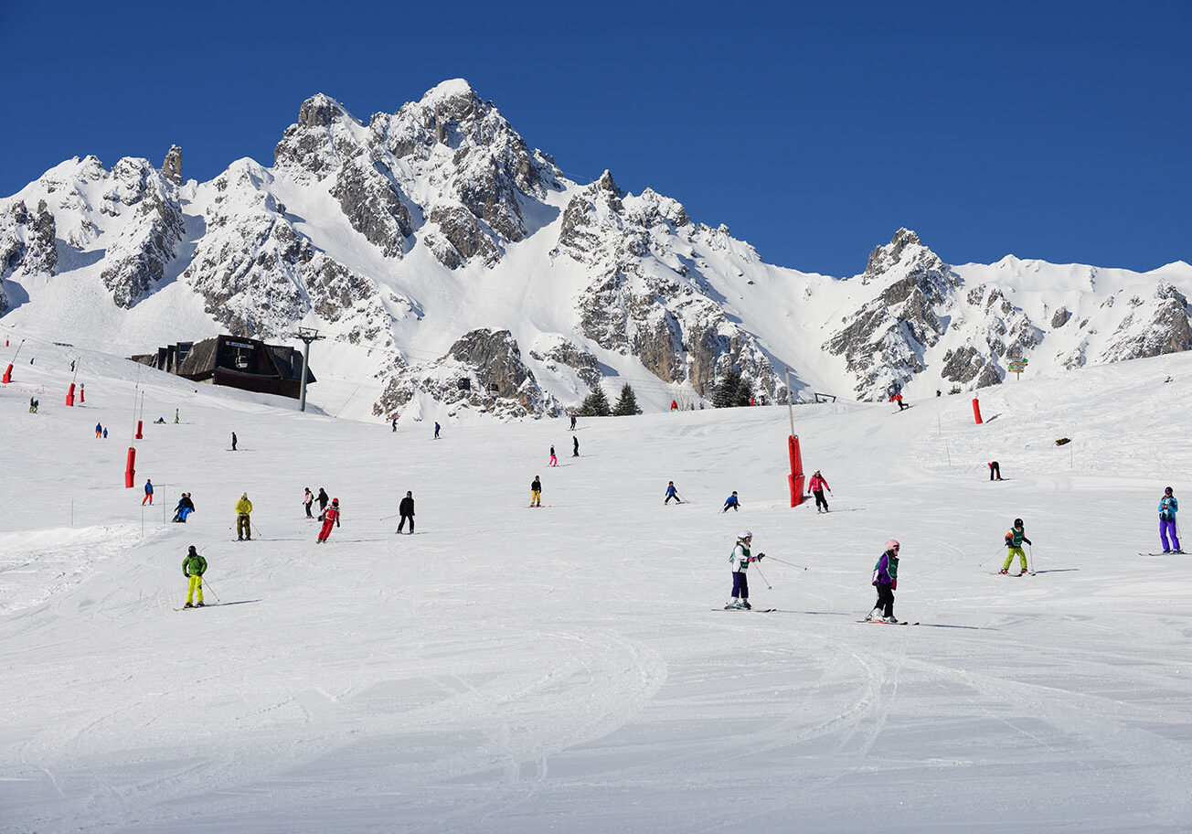 Skiing Piste Beginner