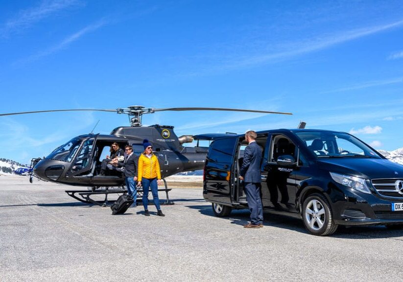 Private airport transfers to Courchevel