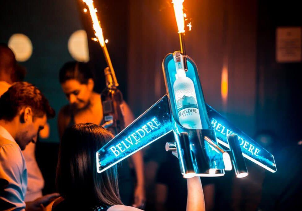 The best nightclub in Courchevel