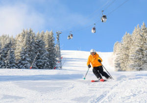 Best ski run courchevel