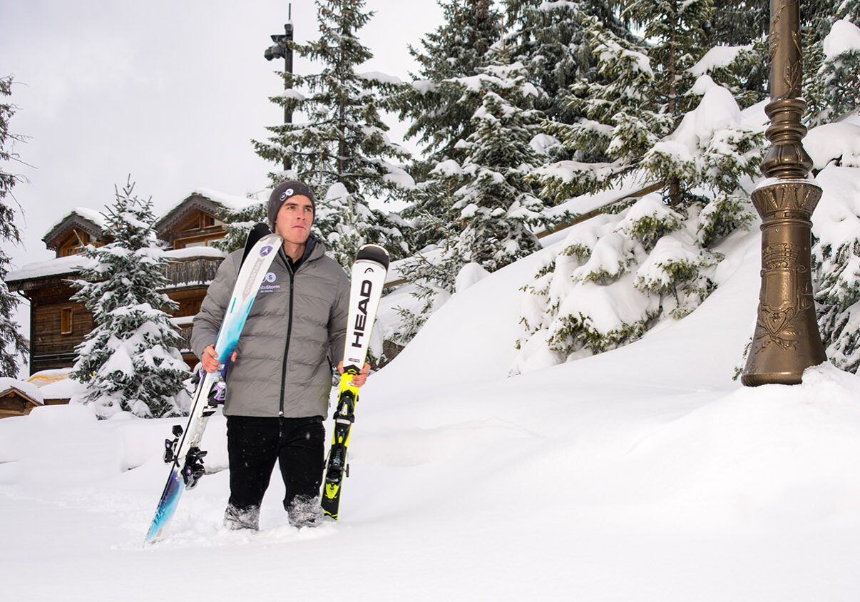 Ski rental delivery Courchevel