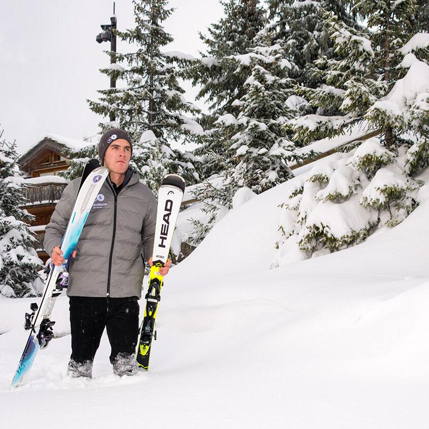 Ski rental delivery Courchevel